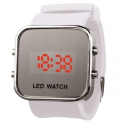 Montre LCD Silicone look cool